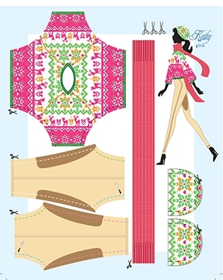 Outfit Kathy Pink