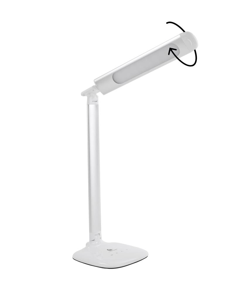 Smart lamp D20 metallic silver