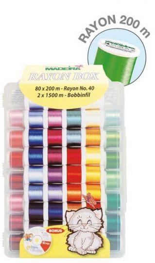 Madeira garen box 80 kleuren