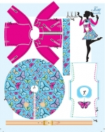 Outfit Lucy Butterfly