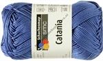 Catania katoen 0261 delftsblauw