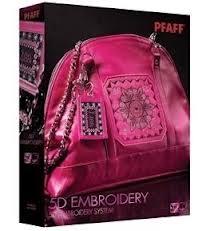 5D Embroidery Pfaff