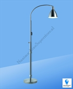 Flexi Vision Daylight Vloerlamp Brushed Chrome