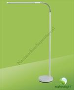 Naturalight Flexibele Vloerlamp Wit