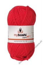 My Boshi nr 1 - 132 signaalrood