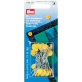 Quiltspelden met bloemkop 50mm
