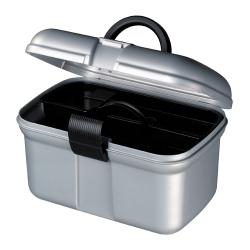 Curvernaaibox, zilver/zwart