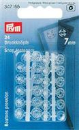 Aannaaidrukknopen kunststof 7 - 10 - 13 - 15 - 17mm