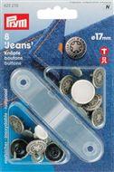 Jeansknopen 14 - 17mm