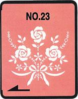Brother borduurkaart XXL witte stikmotieven