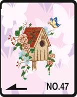 Brother borduurkaart Vlinders
