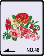 Brother borduurkaart Australische Bloemen