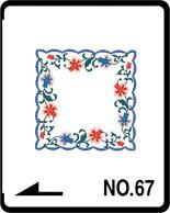 Brother borduurkaart Huishoudenmotieven