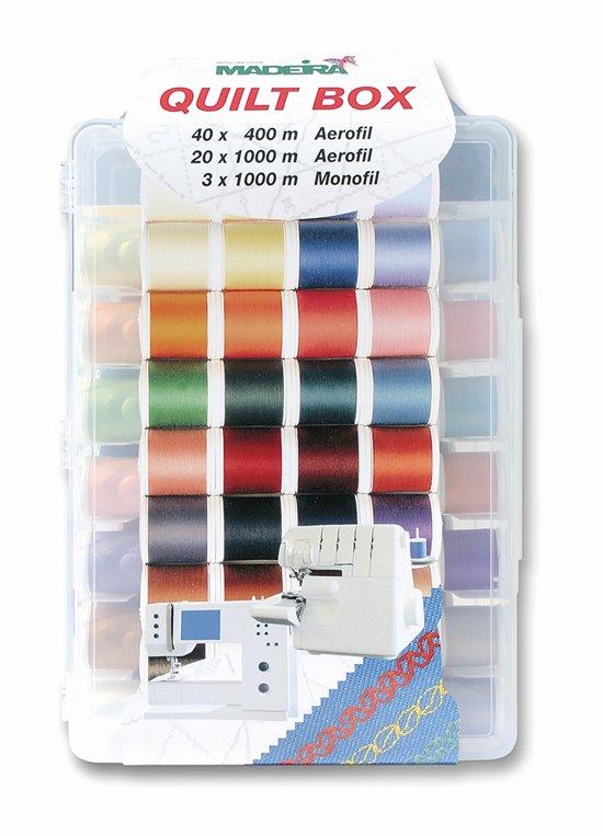 Madeira quilt box 40 kleuren
