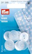 Knopen voor Pyjama's 11 -12 - 13 - 15 - 17 - 18 - 20mm