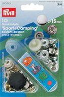 Drukknopen Sport & Camping 15mm