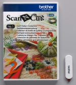 Brother ScanNCut USB1 Quilt patronen collectie