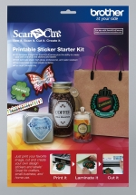 Brother ScanNCut Printbare Stickerkit