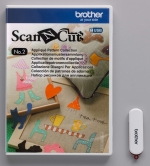 Brother ScanNCut USB2 Applicatie patronen collectie