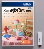 Brother ScanNCut USB4 Collectie 3D Papier Modellen