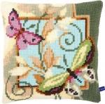 Kussen decoratieve vlinders