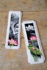 bladwijzer Lotus en Boeddha