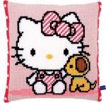 Kussen Hello Kitty met hondje