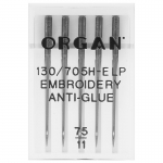 Organ Embroidery anti glue