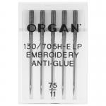 Organ Embroidery anti glue