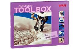 Pfaff Tool box 2124,2000 serie