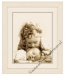 Dag engeltje van mij, Vervaco,geboorte,telpatroon,geboorte borduurpakket, cross stitch,meisje met baby