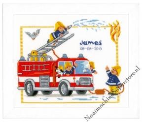 Bij de brandweer, Vervaco