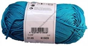 Catania katoen 0146 turquoise