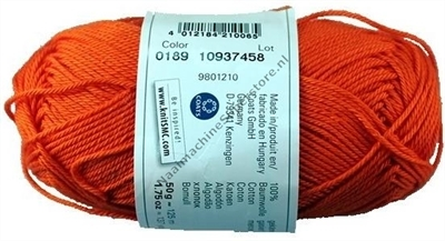 Catania katoen 0189 oranje