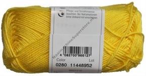Catania katoen 0280 kanarie geel