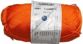 Catania katoen 0281 oranje