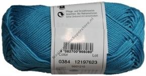 Catania katoen 0384 iris blauw