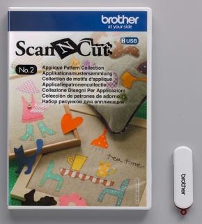 Brother ScanNCut USB2 Applicatie patronen collectie