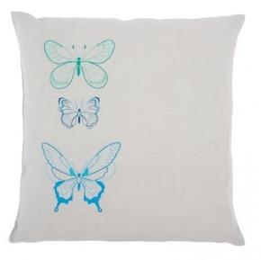 Vlinders in blauwe tinten