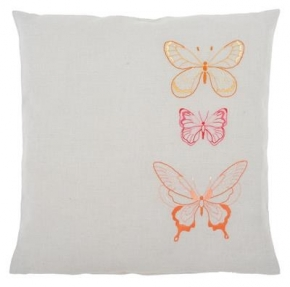 Vlinders in orantje tinten