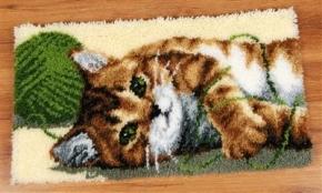 Spelende kat