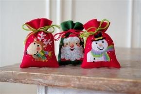 zakje kerstfiguren
