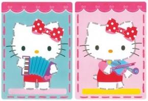 Borduurkaarten Hello Kitty