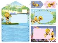 Borduurkaarten uitnodiging Maya
