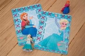 Borduurkaarten Elsa en Anna