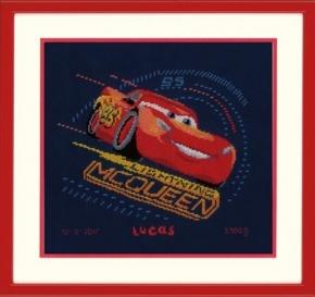 Lightning McQueen met gierende banden